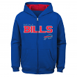 "Buffalo Bills Youth NFL ""Game Stated"" Full Zip Hooded Sweatshirt"