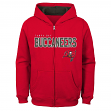 "Tampa Bay Buccaneers Youth NFL ""Game Stated"" Full Zip Hooded Sweatshirt"