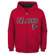 "Atlanta Falcons Youth NFL ""Game Stated"" Full Zip Hooded Sweatshirt"