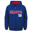 "New York Giants Youth NFL ""Game Stated"" Full Zip Hooded Sweatshirt"