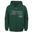 "New York Jets Youth NFL ""Game Stated"" Full Zip Hooded Sweatshirt"