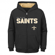 """New Orleans Saints Youth NFL """"Game Stated"""" Full Zip Hooded Sweatshirt"""