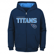 "Tennessee Titans Youth NFL ""Game Stated"" Full Zip Hooded Sweatshirt"