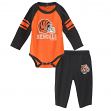 "Cincinnati Bengals NFL ""Future Starter"" Infant Long Sleeve Creeper & Pant Set"