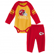 "Kansas City Chiefs NFL ""Future Starter"" Infant Long Sleeve Creeper & Pant Set"