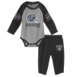 "Oakland Raiders NFL ""Future Starter"" Infant Long Sleeve Creeper & Pant Set"