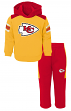 "Kansas City Chiefs NFL ""Touchdown"" Toddler Fleece Hoodie & Pant Set"