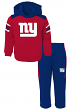 "New York Giants NFL ""Touchdown"" Toddler Fleece Hoodie & Pant Set"