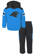 "Carolina Panthers NFL ""Touchdown"" Toddler Fleece Hoodie & Pant Set"