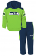 "Seattle Seahawks NFL ""Touchdown"" Toddler Fleece Hoodie & Pant Set"