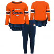 "Denver Broncos NFL Toddler Girls ""Mini Formation"" L/S Top & Legging Set"