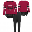 "Arizona Cardinals NFL Toddler Girls ""Mini Formation"" L/S Top & Legging Set"