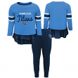 "Tennessee Titans NFL Toddler Girls ""Mini Formation"" L/S Top & Legging Set"