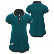 """Philadelphia Eagles NFL """"Lil Cheer Coach"""" Toddler Girls Faux Layer Polo Dress"""