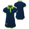 "Seattle Seahawks NFL ""Lil Cheer Coach"" Toddler Girls Faux Layer Polo Dress"