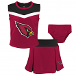"Arizona Cardinals NFL Toddler Girls ""Spirit Cheer"" Cheerleader 2 Piece Set"
