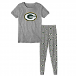 "Green Bay Packers Youth NFL ""Playoff Bound"" Pajama T-shirt & Sleep Pant Set"