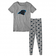 "Carolina Panthers Youth NFL ""Playoff Bound"" Pajama T-shirt & Sleep Pant Set"
