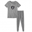 "Oakland Raiders Youth NFL ""Playoff Bound"" Pajama T-shirt & Sleep Pant Set"