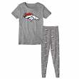 "Denver Broncos Toddler NFL ""Playoff Game"" Pajama T-shirt & Sleep Pant Set"