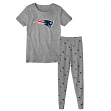"New England Patriots Toddler NFL ""Playoff Game"" Pajama T-shirt & Sleep Pant Set"