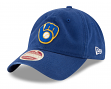 "Milwaukee Brewers New Era MLB 9Twenty Cooperstown ""Rugged Patch"" Adjustable Hat"
