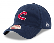 "Cleveland Indians New Era MLB 9Twenty Cooperstown ""Rugged Patch"" Adjustable Hat"