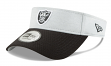 Oakland Raiders New Era NFL 2018 Official Sideline Performance Visor