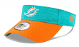 Miami Dolphins New Era NFL 2018 Official Sideline Performance Visor
