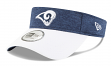 Los Angeles Rams New Era NFL 2018 Official Sideline Performance Visor