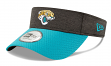 Jacksonville Jaguars New Era NFL 2018 Official Sideline Performance Visor