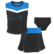 "Carolina Panthers NFL Girls ""Spirit Cheer"" Cheerleader 2 Piece Set"