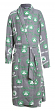 "Boston Celtics NBA ""Achievement"" Men's Micro Fleece Robe"