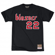 "Clyde Drexler Portland Trail Blazers Mitchell & Ness NBA Men's ""Player"" T-Shirt"