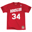 "Hakeem Olajuwon Houston Rockets Mitchell & Ness NBA Men's ""Player"" S/S T-Shirt"