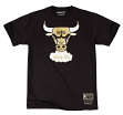 "Chicago Bulls Mitchell & Ness ""Gold Standard"" Team Logo Premium T-Shirt"