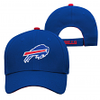 "Buffalo Bills Youth NFL ""Basic Logo"" Structured Adjustable Hat"
