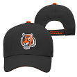 "Cincinnati Bengals Youth NFL ""Basic Logo"" Structured Adjustable Hat"