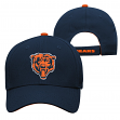 "Chicago Bears Youth NFL ""Basic Logo"" Structured Adjustable Hat"