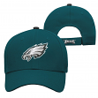 "Philadelphia Eagles Youth NFL ""Basic Logo"" Structured Adjustable Hat"
