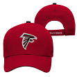 "Atlanta Falcons Youth NFL ""Basic Logo"" Structured Adjustable Hat"