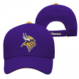 "Minnesota Vikings Youth NFL ""Basic Logo"" Structured Adjustable Hat"