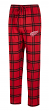 "Detroit Red Wings NHL ""Homestretch"" Men's Flannel Pajama Sleep Pants"