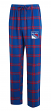 "New York Rangers NHL ""Homestretch"" Men's Flannel Pajama Sleep Pants"