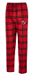 "New Jersey Devils NHL ""Homestretch"" Men's Flannel Pajama Sleep Pants"