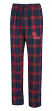 "Mississippi Ole Miss Rebels NCAA ""Homestretch"" Men's Flannel Pajama Sleep Pants"