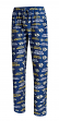 "Nashville Predators NHL ""Midfield"" Men's Polyester Blend Pajama Sleep Pants"