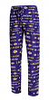"Los Angeles Lakers NBA ""Midfield"" Men's Polyester Blend Pajama Sleep Pants"
