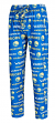 "Golden State Warriors NBA ""Midfield"" Men's Polyester Blend Pajama Sleep Pants"