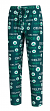 "Boston Celtics NBA ""Midfield"" Men's Polyester Blend Pajama Sleep Pants"